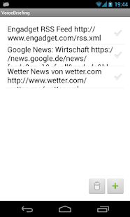VoiceBriefing - RSS Reader- screenshot thumbnail