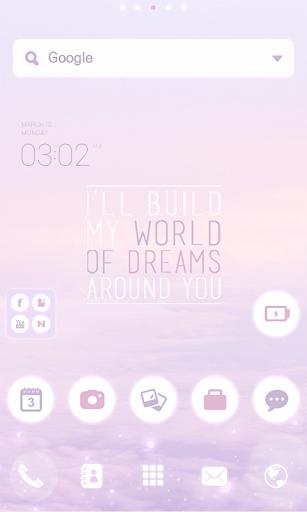 Dreams dodol launcher theme