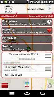 Springs Cab - Booking- screenshot thumbnail