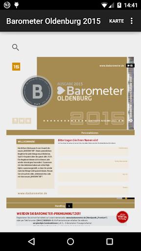 Barometer Oldenburg 2015