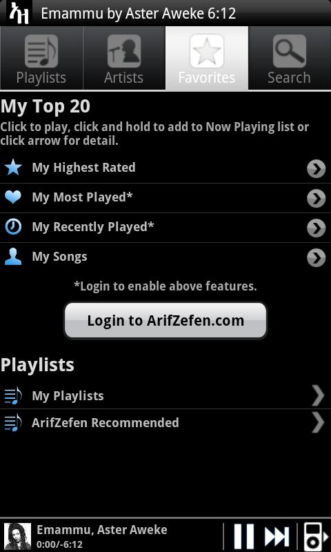 ArifZefen - screenshot