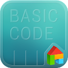 Basic code LINE Launcher theme icon