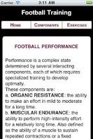 Screenshot of Football Training