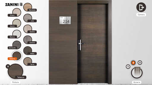 Zanini Hotel Rooms Doors