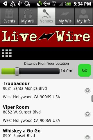Live Wire - screenshot