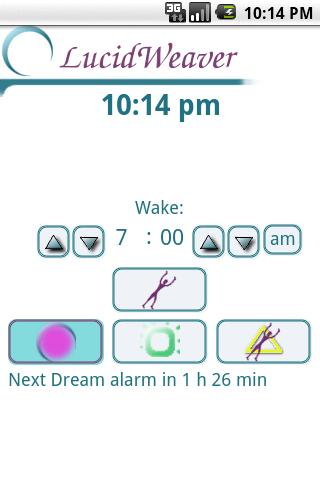 LucidWeaver Lucid Dream Timer - screenshot