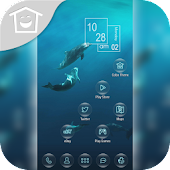 Dolphin Bay Ocean Sea Theme