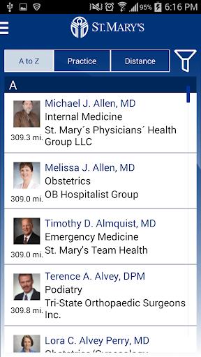 【免費醫療App】St. Mary's Health System-APP點子
