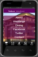 Screenshot of Talbot Hotel