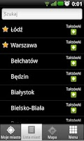 Screenshot of Złap Taxi