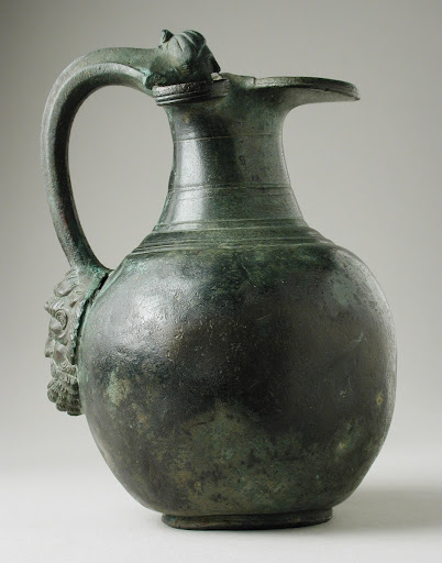 Trefoil Oinochoe with Etruscan Handle