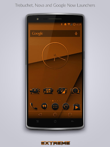 JB Extreme Theme Orange CM11