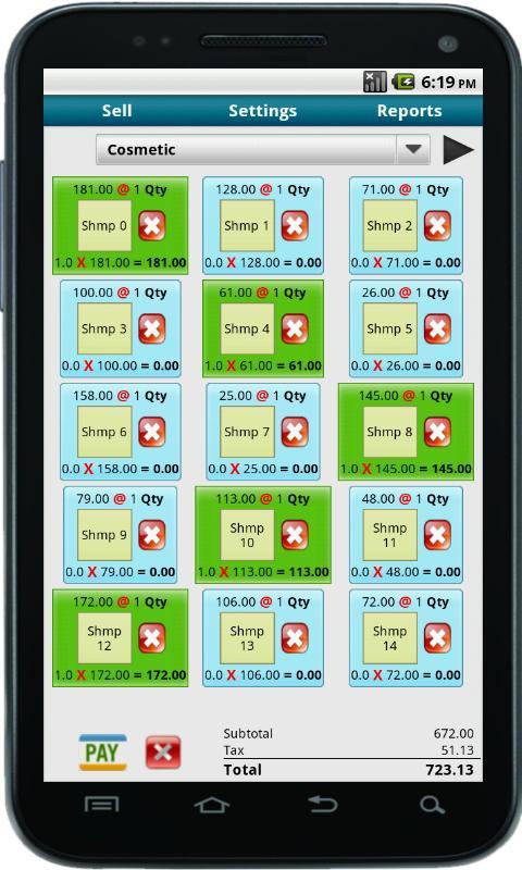 Bonrix Cash Register POS- screenshot