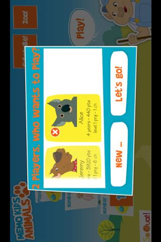MemoKids Animals HD Lite - screenshot