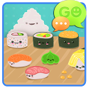 GO SMS Pro Sweet Sushi Theme icon