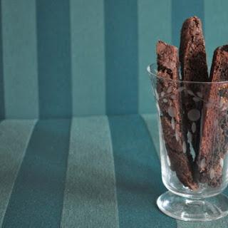 Chocolate Fig Biscotti