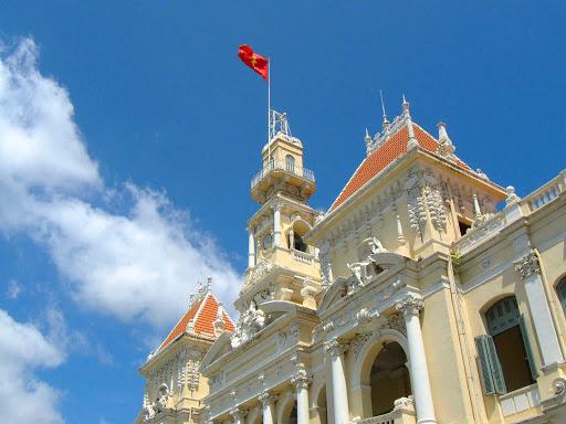 Hotel-de-Ville-Vietnam - Hotel de Ville de Saigon in Ho Chi Minh City, Vietnam.