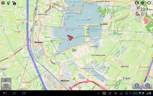 Maps & GPS Navigation OsmAnd+  screenshots 9