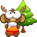 Bubble Monkey Xmas icon