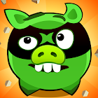 Fire Piggy -- hit the bad pig with bullet & rocket icon