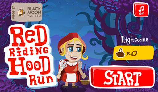 【免費家庭片App】Red Riding Hood Run-APP點子