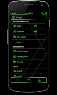 CM10/AOKP Theme: VENOM - screenshot thumbnail