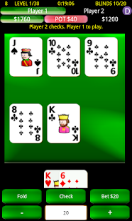 Headsup Holdem Poker - screenshot thumbnail