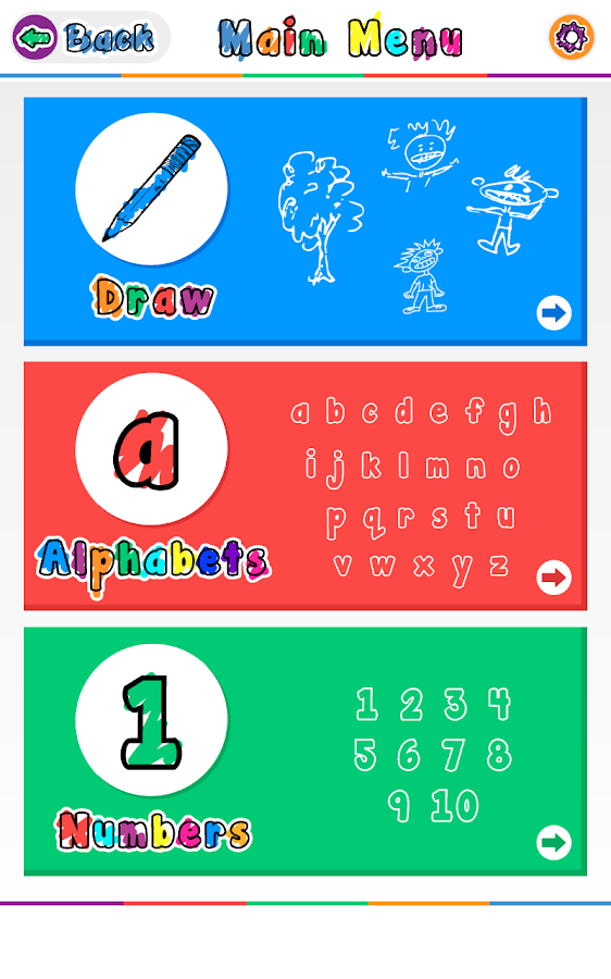 Draw and Learn- screenshot