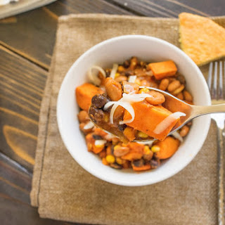 Sweet potato chili and Sam's Club healthy eating