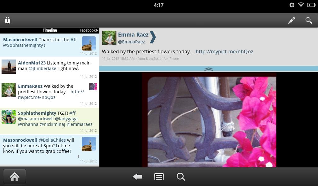UberSocial for Twitter screenshot #7