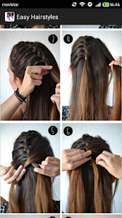 Easy Hairstyles(Step by Step) - Apps on Google Play
