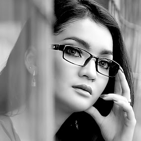 by Abhan Creative - Black & White Portraits & People