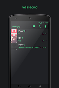 Kreatur UI CM11/PA Theme - screenshot thumbnail
