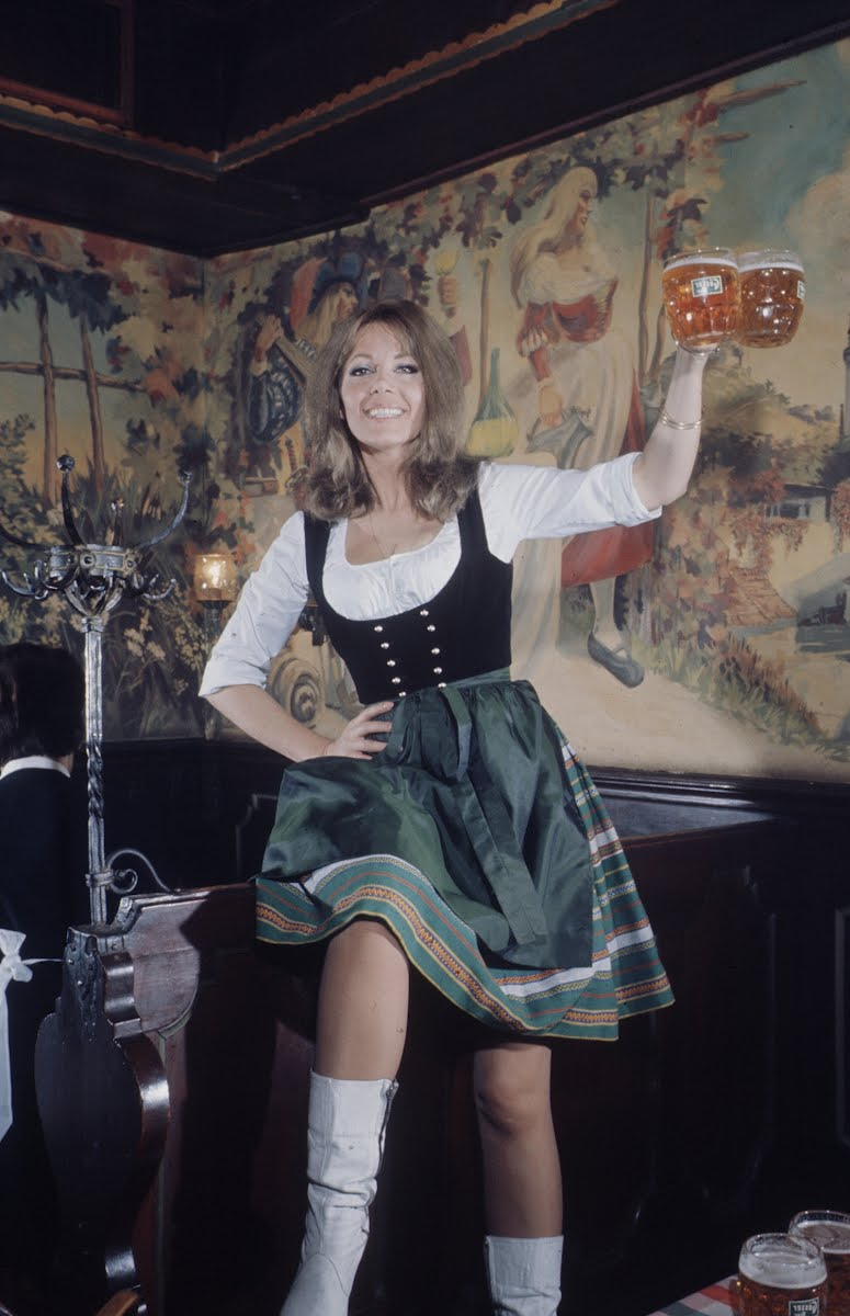 """Actress, Ingrid Pitt - Re: Motion Picture """"Where Eagles Dare"""" - Loomis Dean  — Google Arts & Culture"""