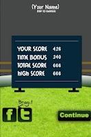Screenshot of Cricket Record 2011