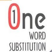 One Word Substitution- Grammar