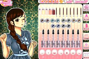 Screenshot of Lovely Anime Girl Dress up