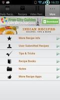 Screenshot of Indian Recipes!