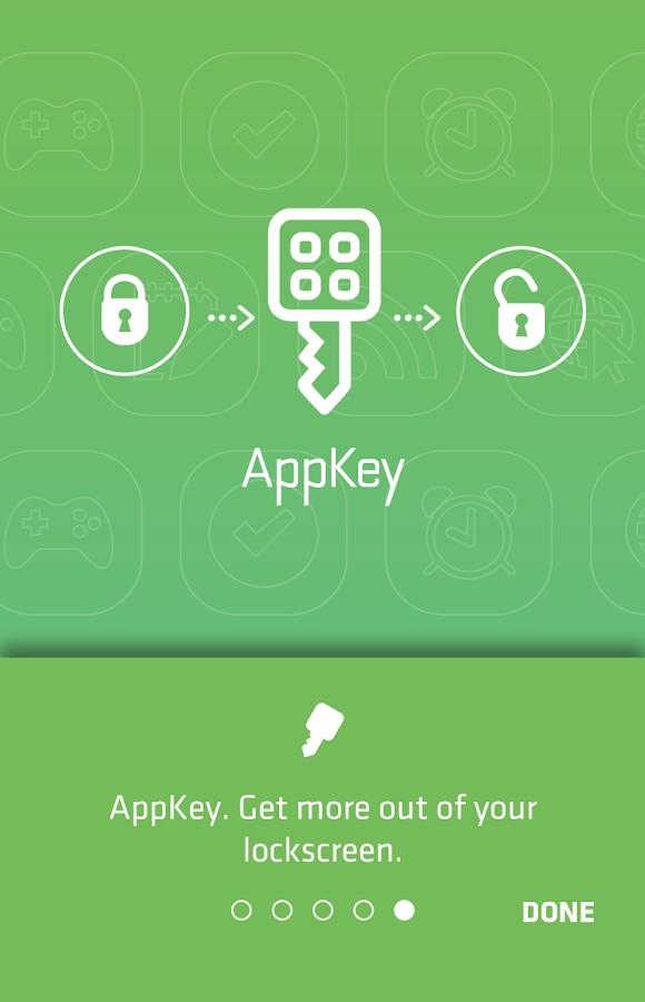 AppKey- screenshot
