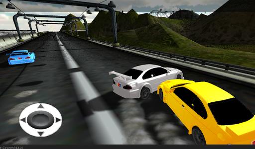 汽车漂移比赛的3D