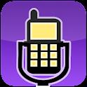 Llame y grabadora de voz icon
