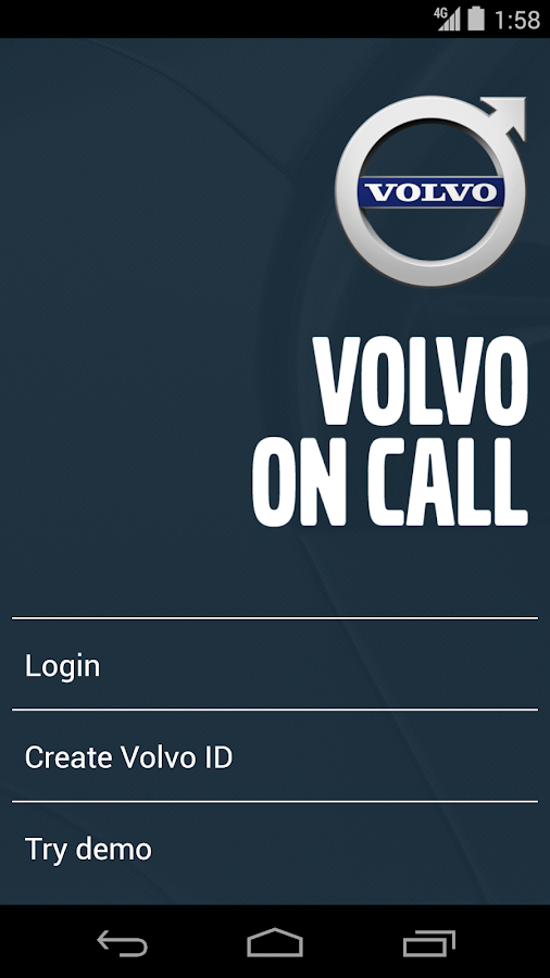 Volvo On Call - screenshot