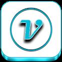 VRS White-Cyan Icon Pack icon