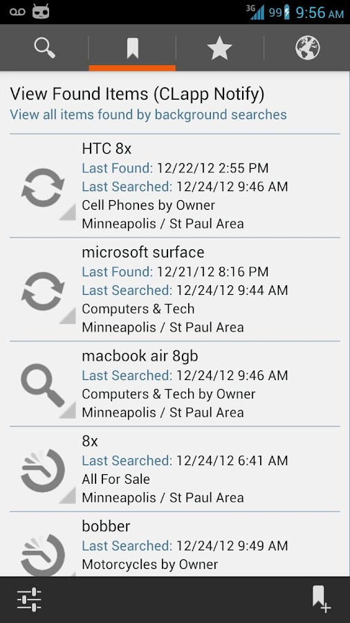 Craigslist for Android (CLapp) - screenshot