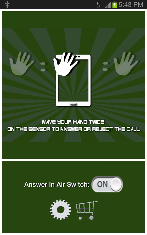 Answer In Air (Free)- screenshot