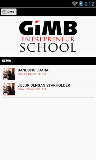 GIMB Entrepreneur School