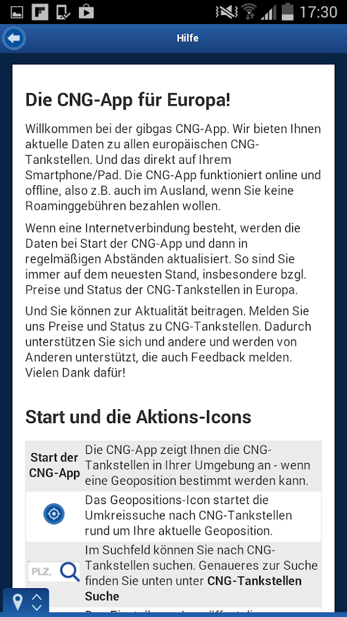 gibgas CNG Europe- screenshot