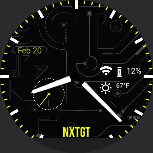 NXTGT Watchface Pack
