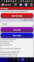 Screenshot of AlfaOBD Demo