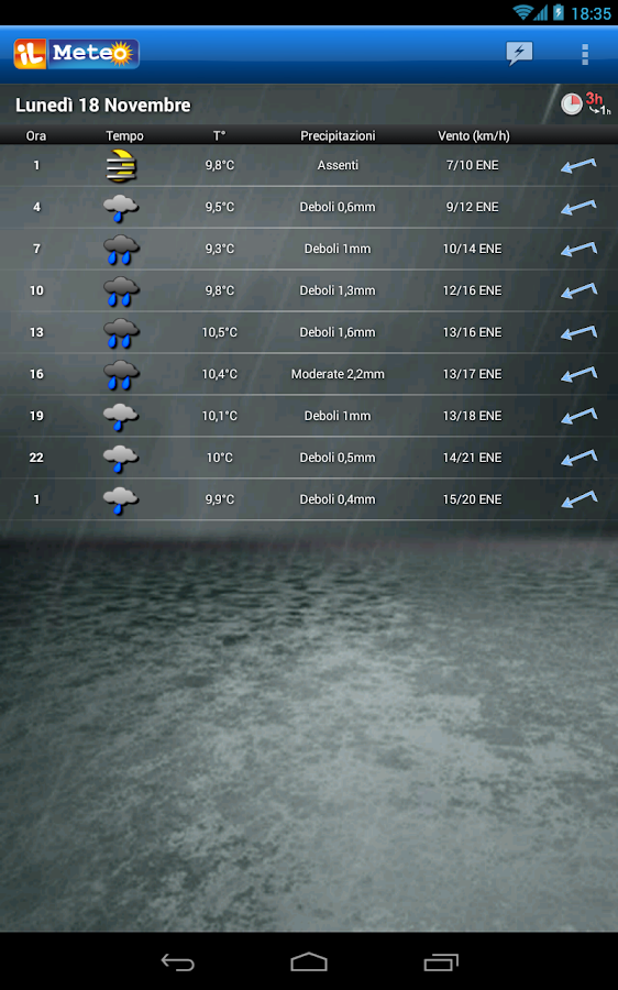 ilMeteo plus - screenshot